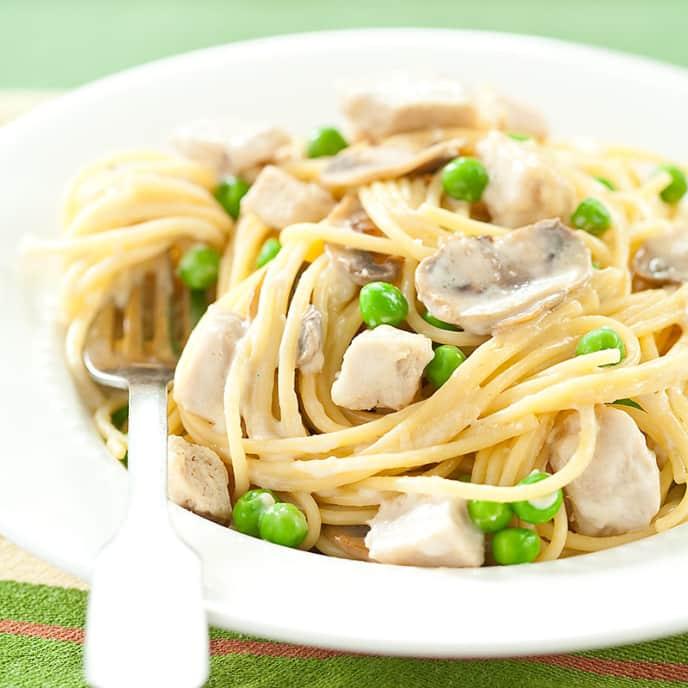 Turkey Tetrazzini Pasta