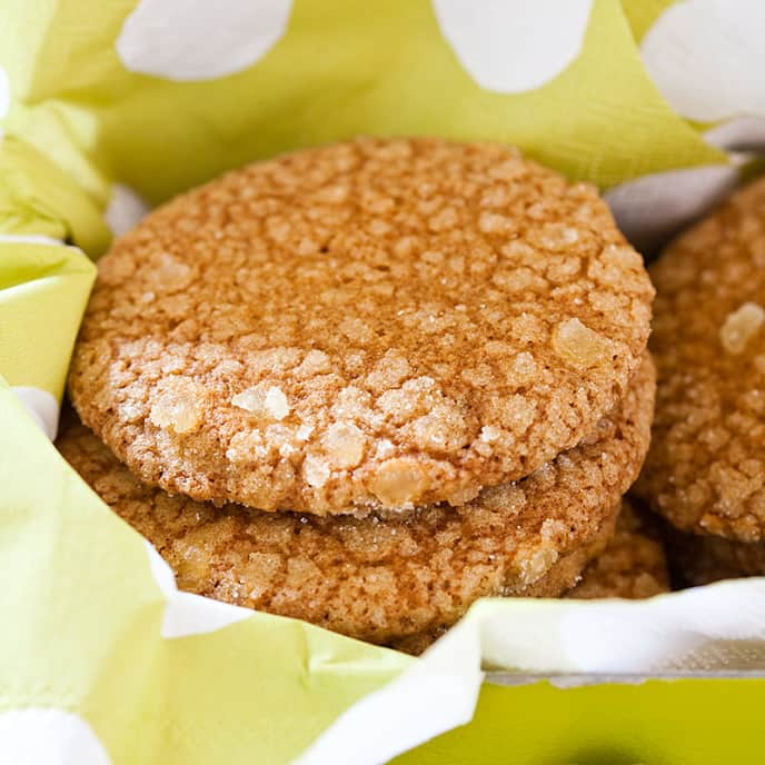 Gingery Maple Thins