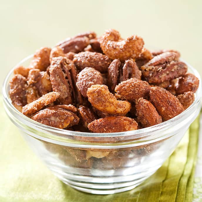 Crunchy Spiced Nuts