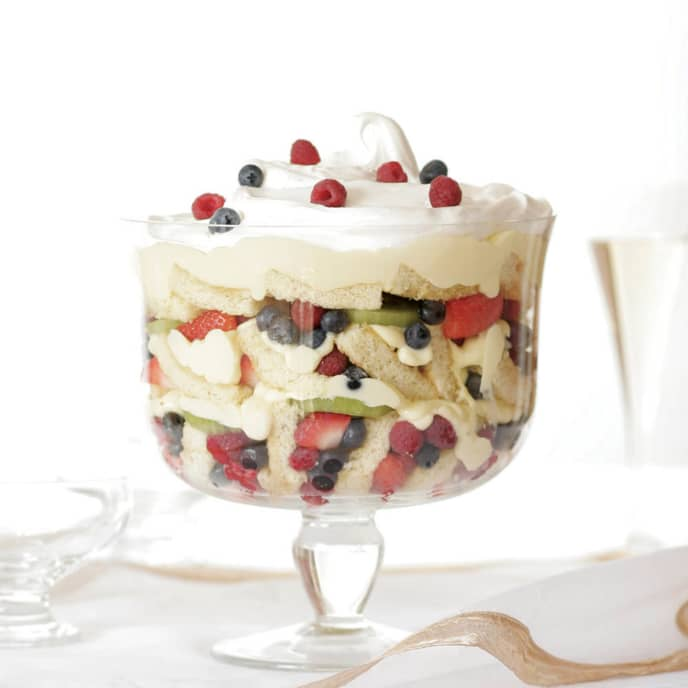 Fresh Fruit Trifle