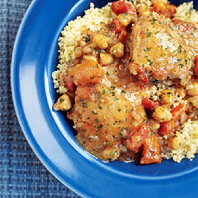 30-Minute Chicken Tagine