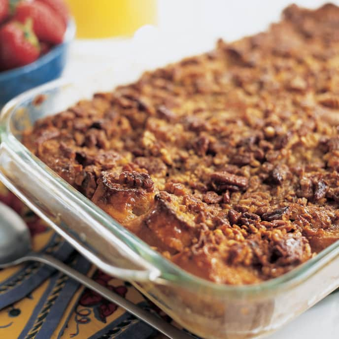Rum-Raisin French Toast Casserole