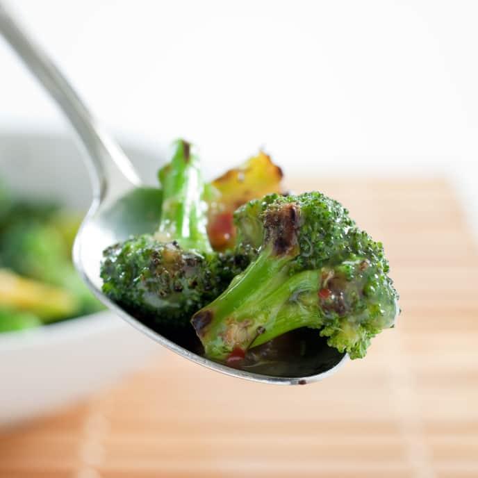 Stir-Fried Broccoli with Chili-Garlic Sauce
