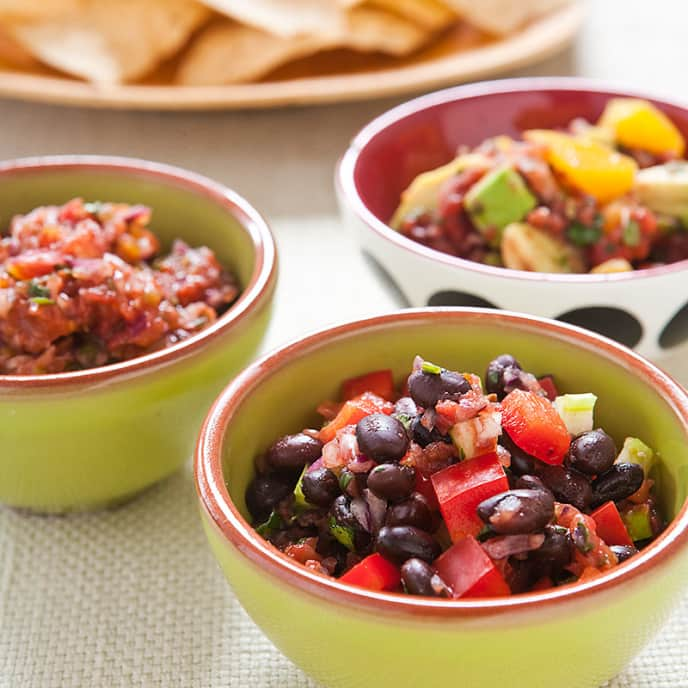 Five-Minute Fresh Tomato Salsa