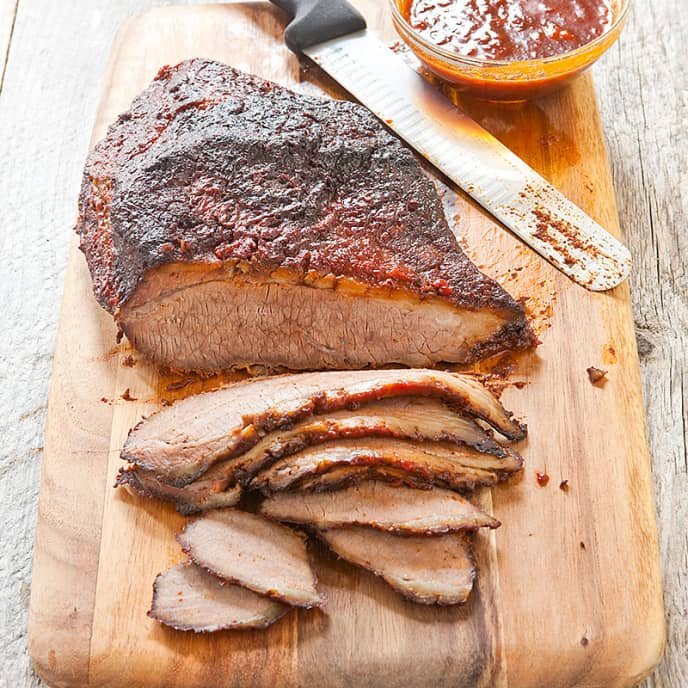 Kansas City Barbecued Brisket