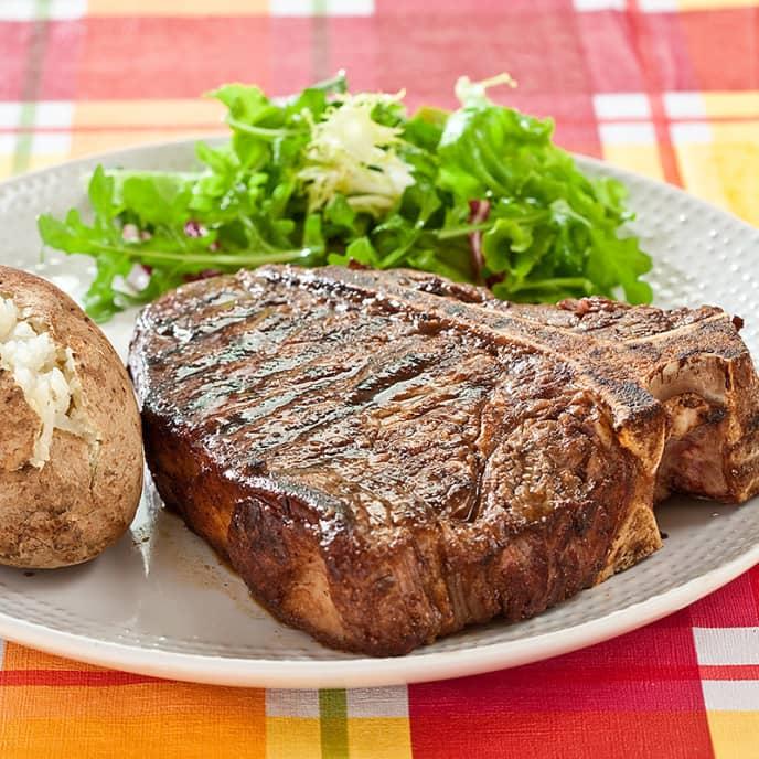 Grilled Bone-In Steaks