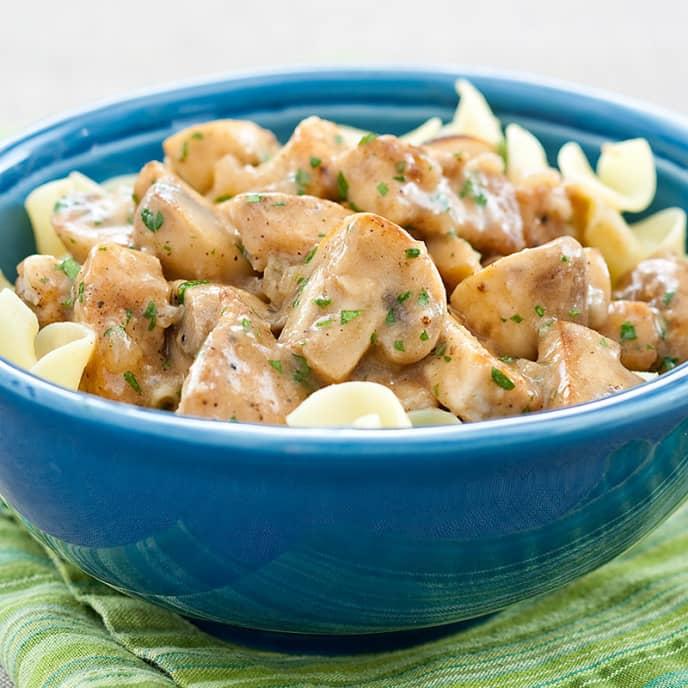 Pork Marsala Saute
