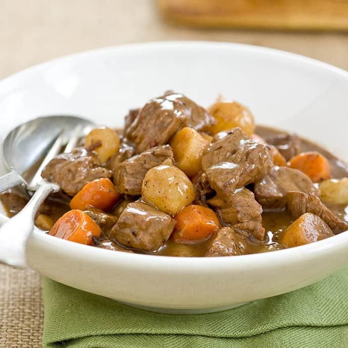 Speedy Guinness Beef Stew