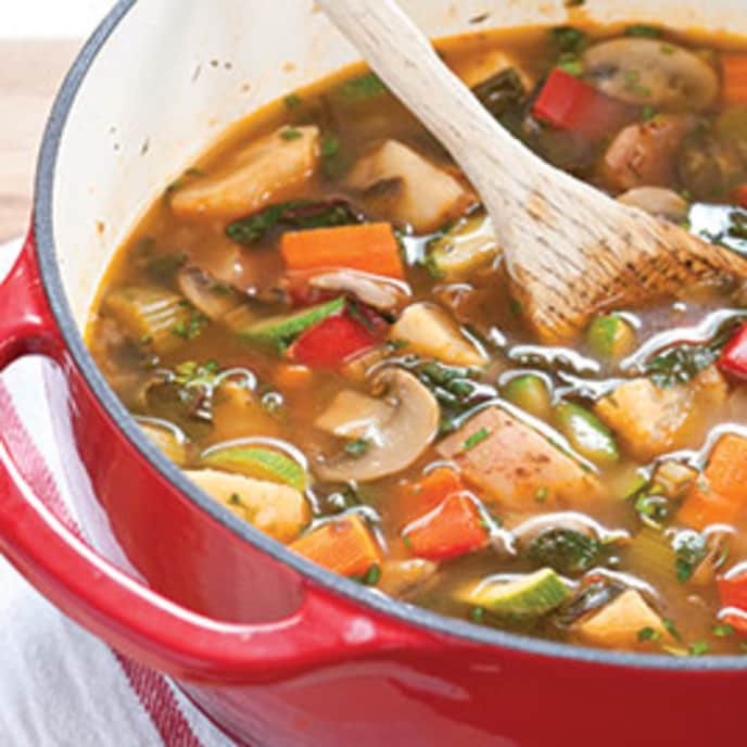 Hearty Ten-Vegetable Stew