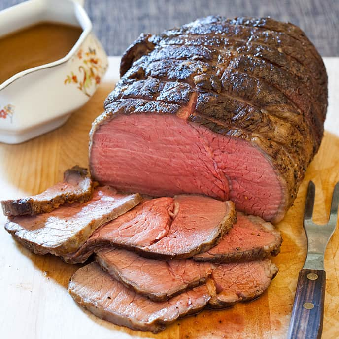 Grandma's Roast Beef with Gravy