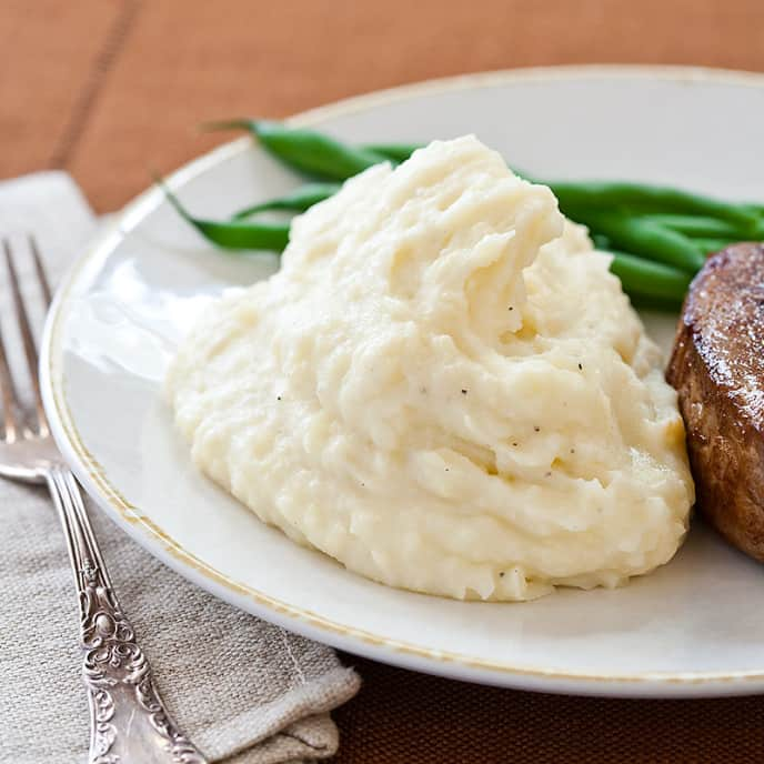 Reduced-Fat Mashed Potatoes