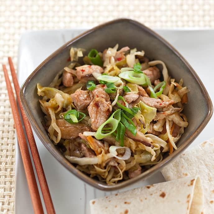 Quick Mu Shu Pork