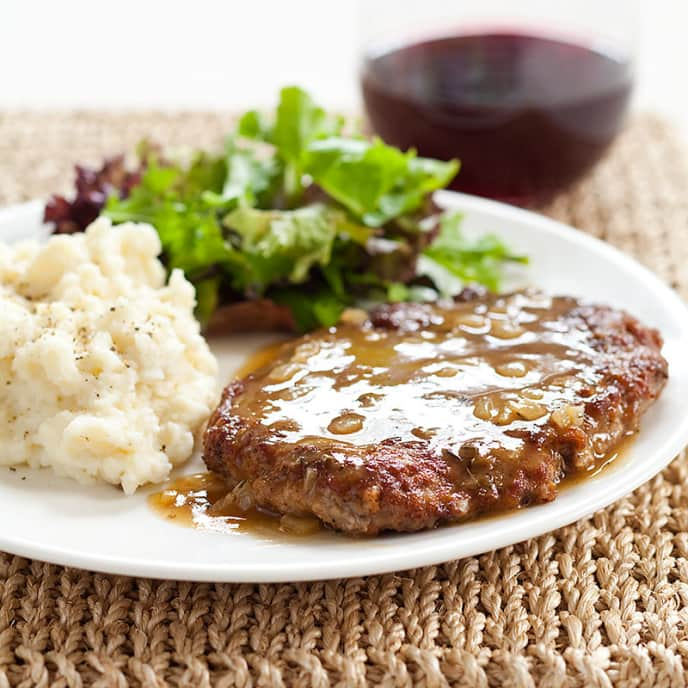 Minute Steaks with Pan Gravy