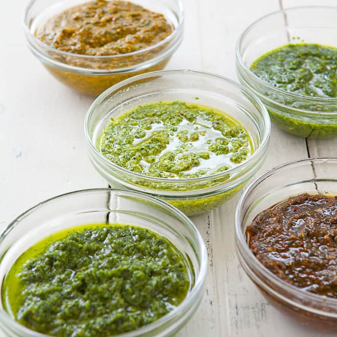 Oregano-Lemon Pesto