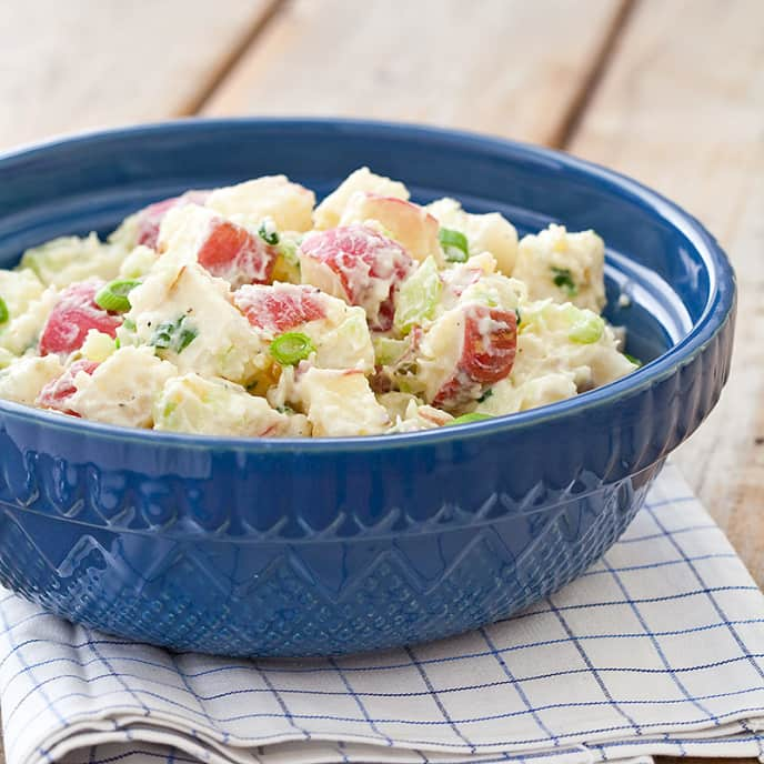 Reduced-Fat Potato Salad