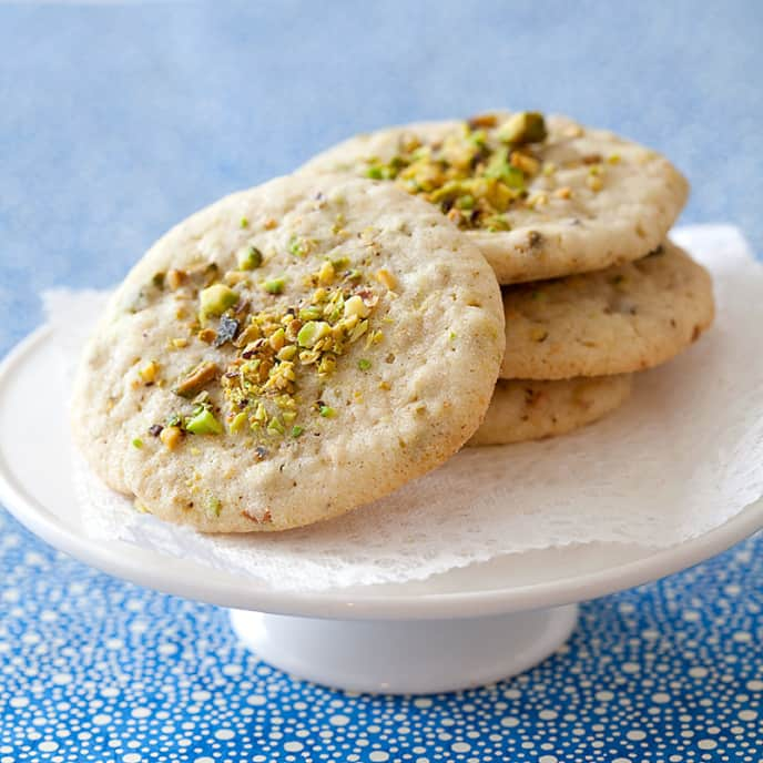 Pistachio-Fennel Cookies