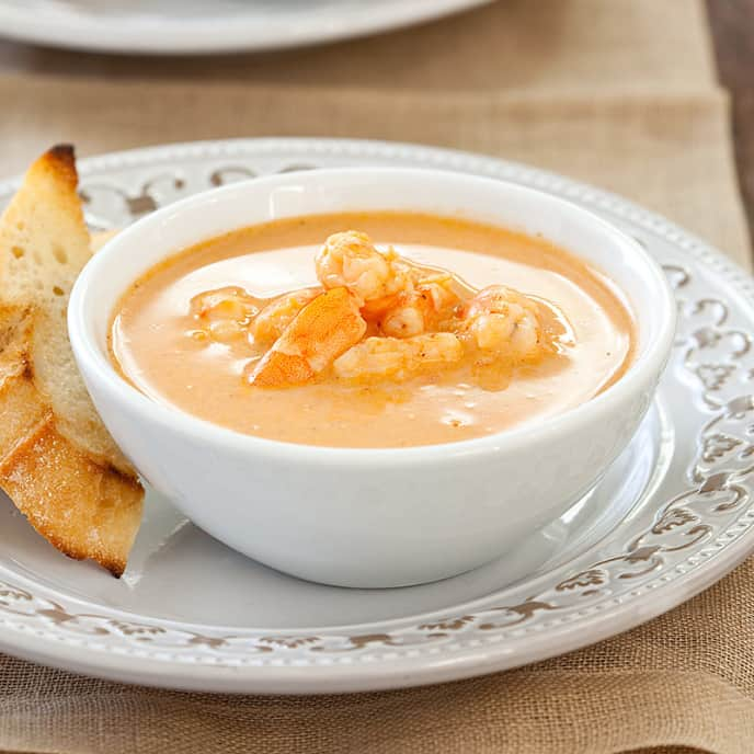 Simpler Shrimp Bisque