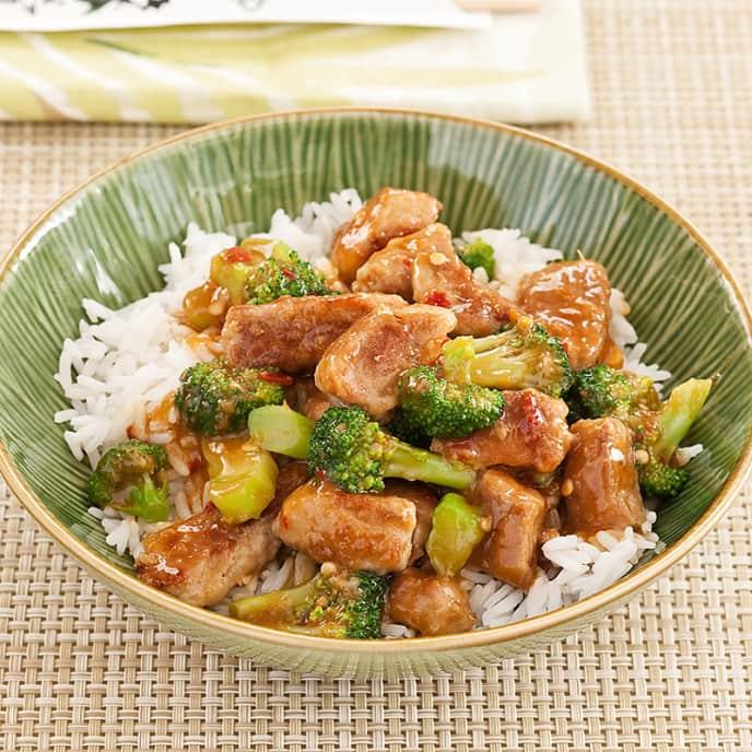 Spicy Pork and Broccoli Stir-Fry