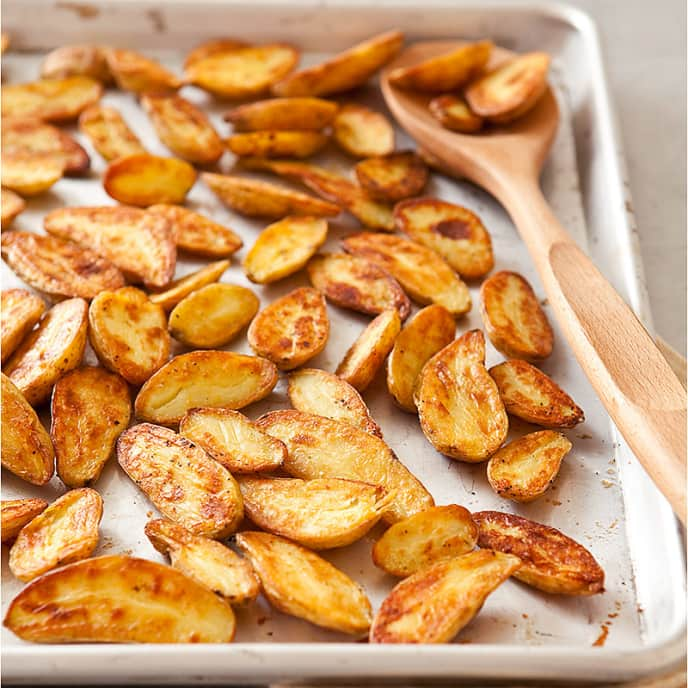 Crisp Roasted Fingerling Potatoes