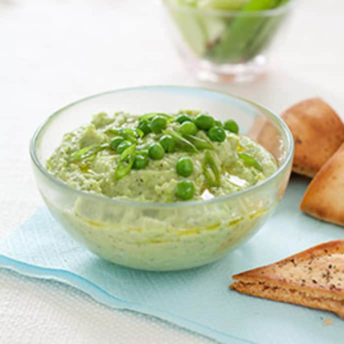 Butter Bean and Pea Dip with Mint