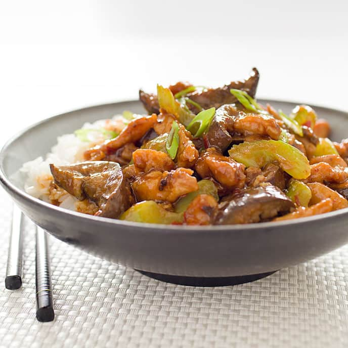 Sichuan Stir-Fried Pork in Garlic Sauce