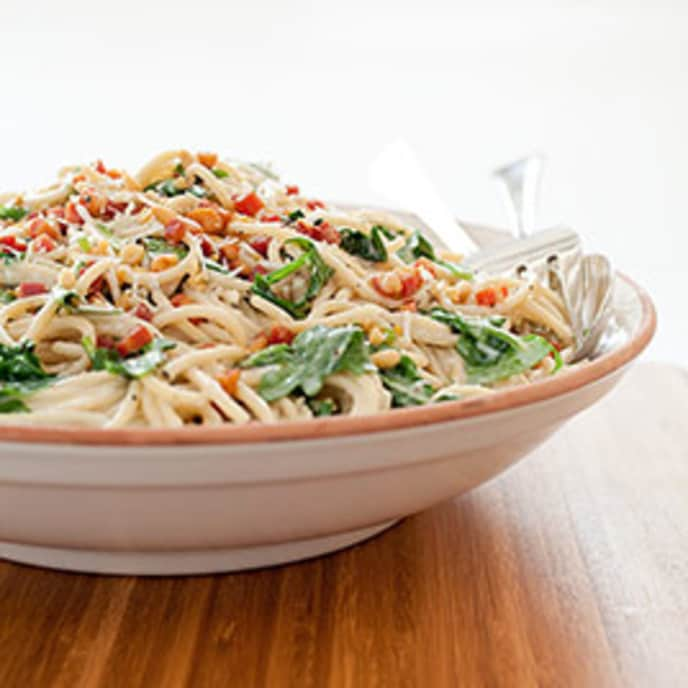 Spaghetti al Vino Bianco