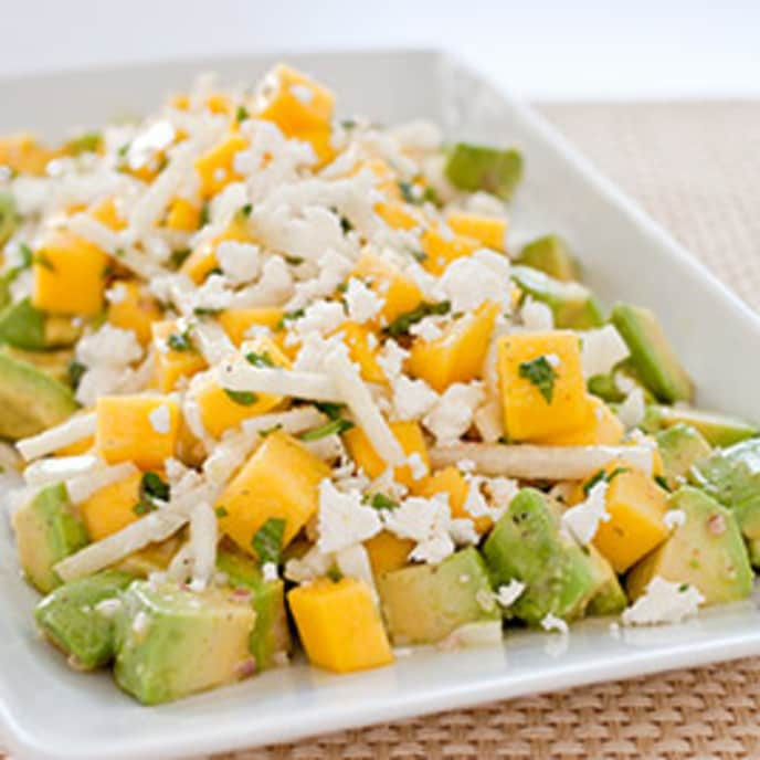 Avocado Salad with Mango and Jicama
