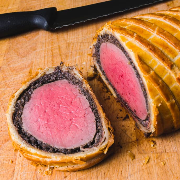 Updated Beef Wellington for Four