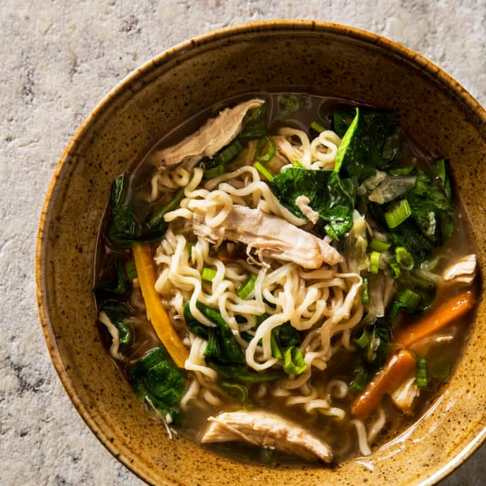 Chicken and Ramen Soup