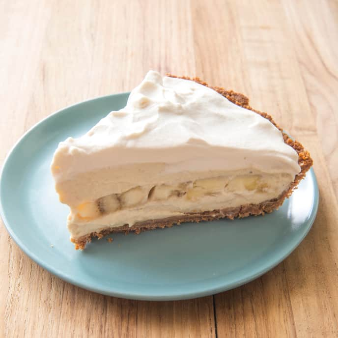 Banana Cream Pie (Reduced Sugar)