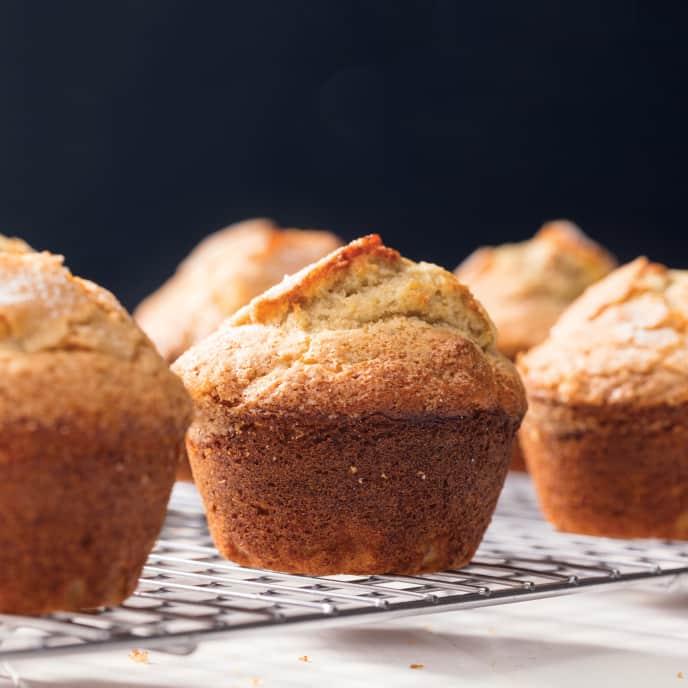 Banana-Walnut Muffins