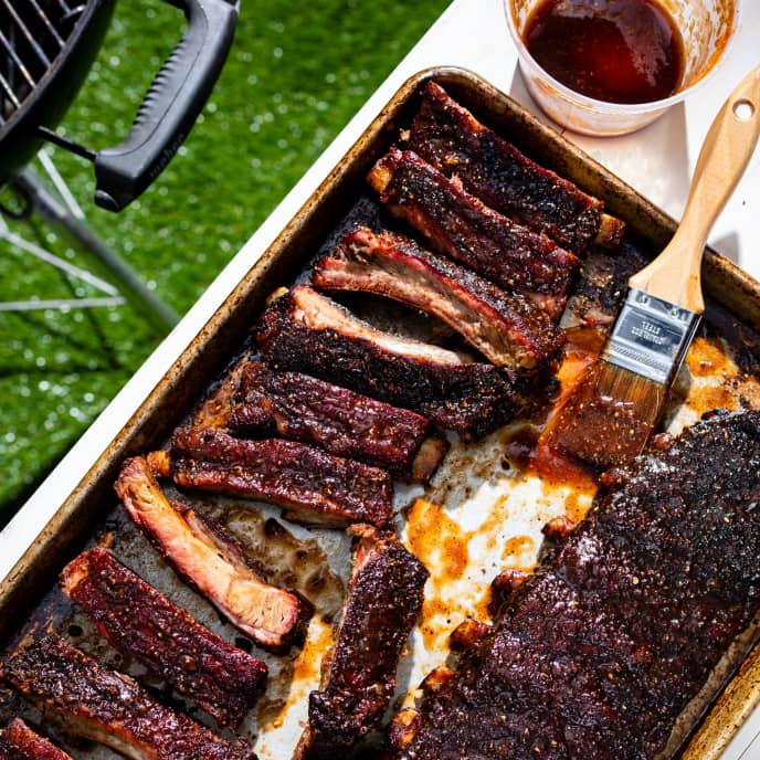 Kansas City-Style Barbecue Ribs