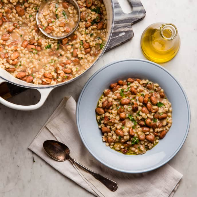Barley and Bean Soup