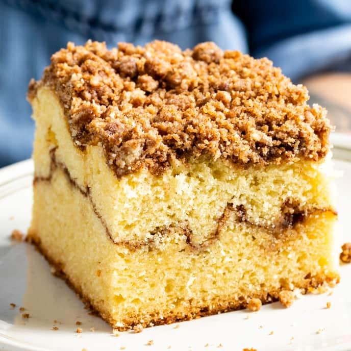 Basic Orange-Cardamom Coffee Cake