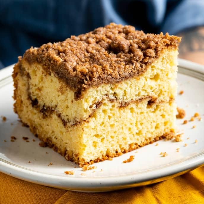 Basic Ginger-Nutmeg Coffee Cake
