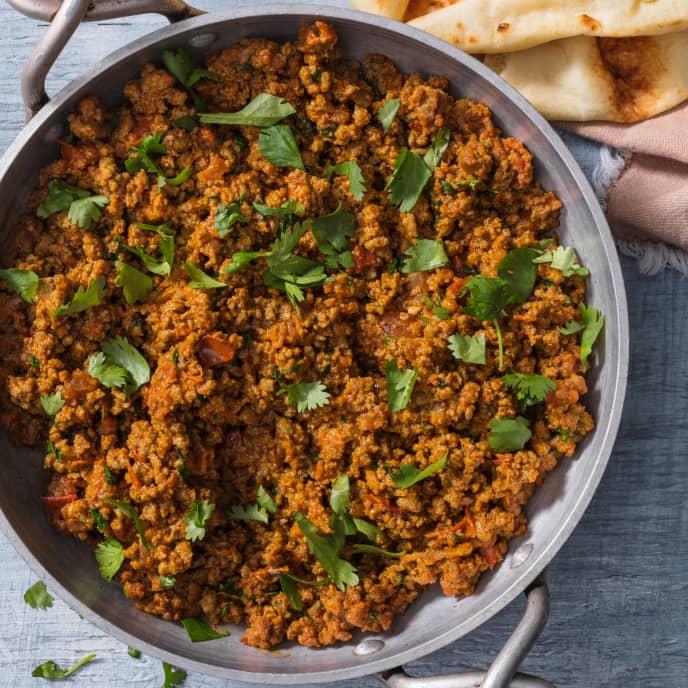 Keema (Garam Masala-Spiced Ground Beef) for Two