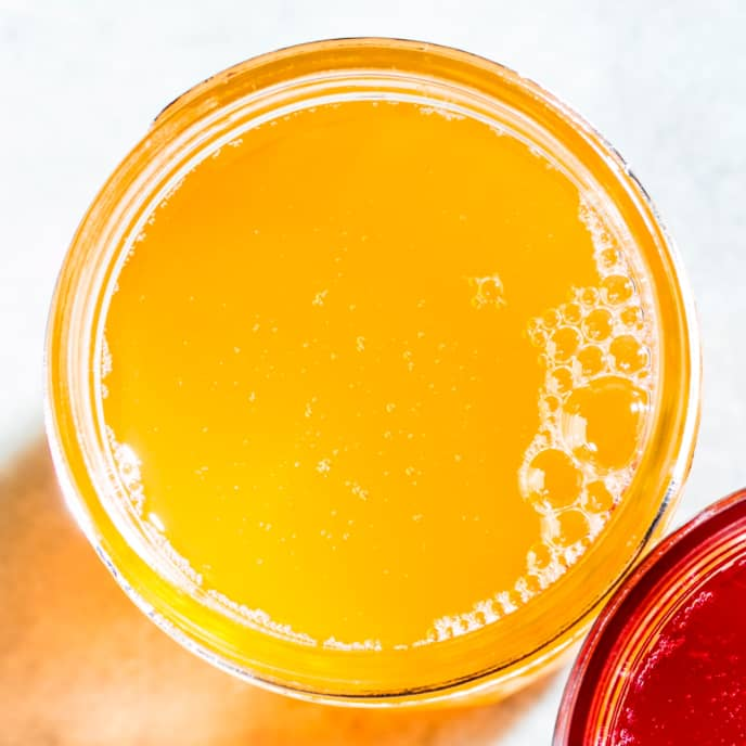 Peach Shrub Syrup