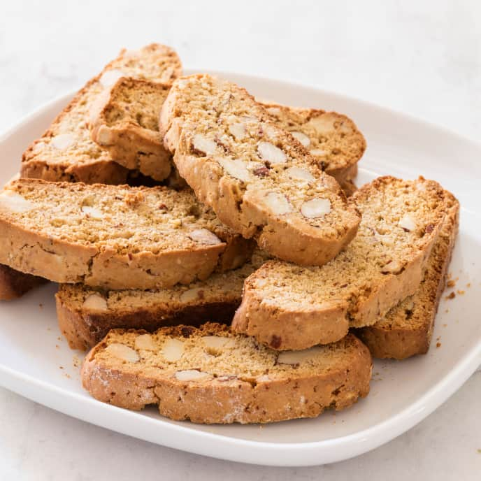 Almond Biscotti (Reduced Sugar)