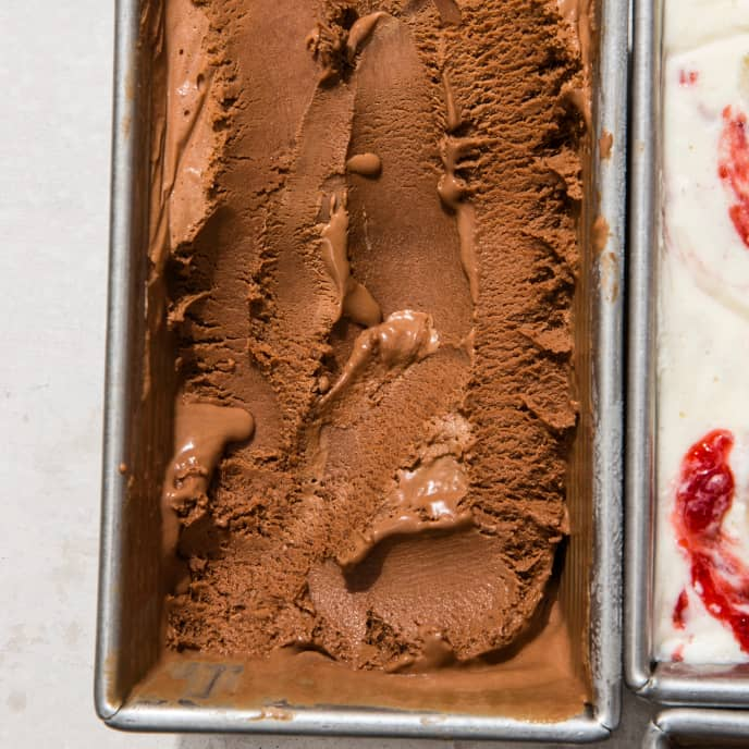 Dark Chocolate No-Churn Ice Cream