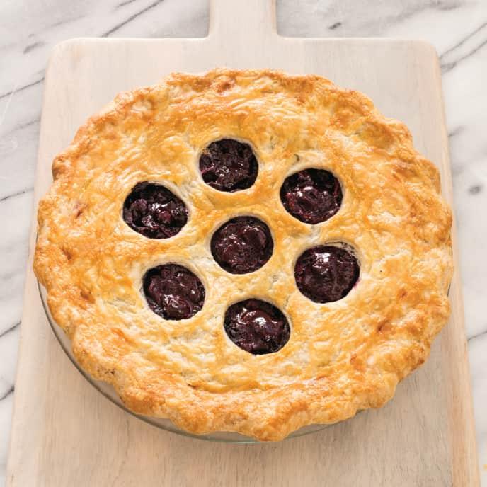 Blueberry Pie (Reduced Sugar)