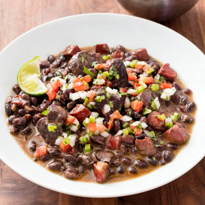 One-Pot Brazilian Black Bean and Pork Stew
