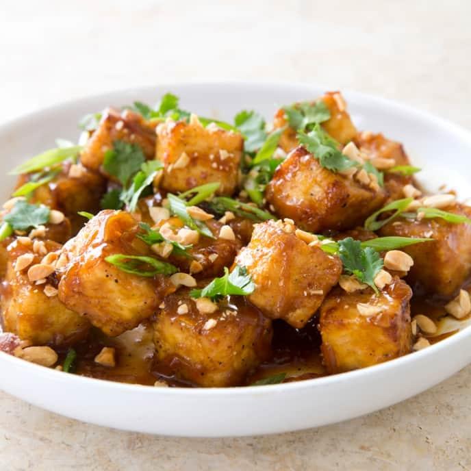 Caramel Tofu
