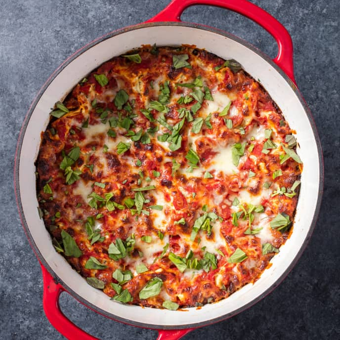 Cheese and Tomato Lasagna