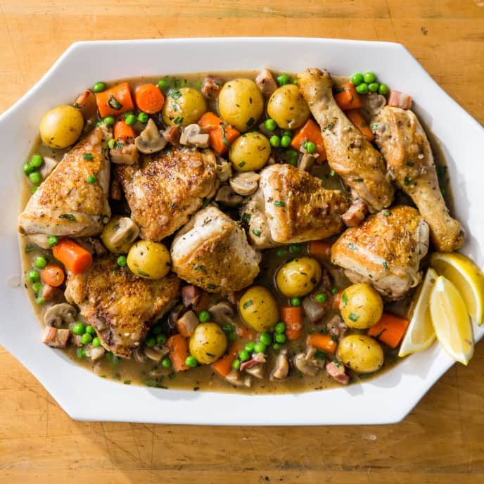 One-Pot Chicken Jardinière