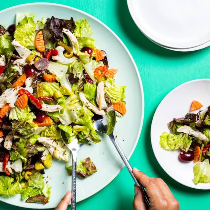 Chicken Salad with Whole-Grain Mustard Vinaigrette