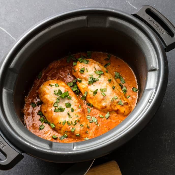 Slow-Cooker Chicken Pomodoro