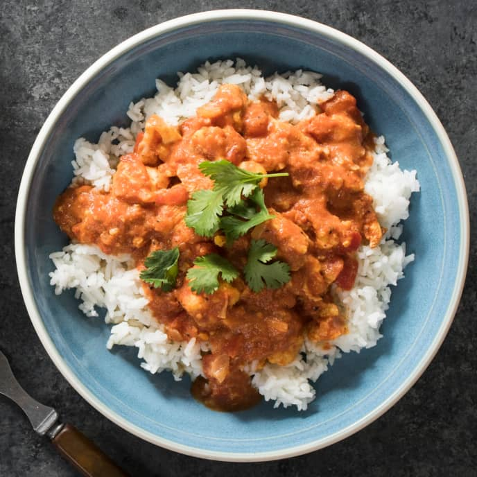Chicken and Cauliflower in Garam Masala–Tomato Sauce