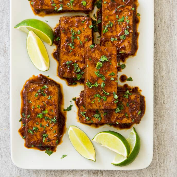 Chile Braised Tofu