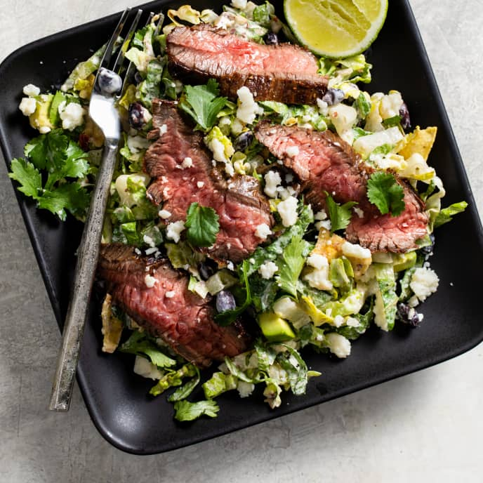 Chipotle Chopped Steak Salad