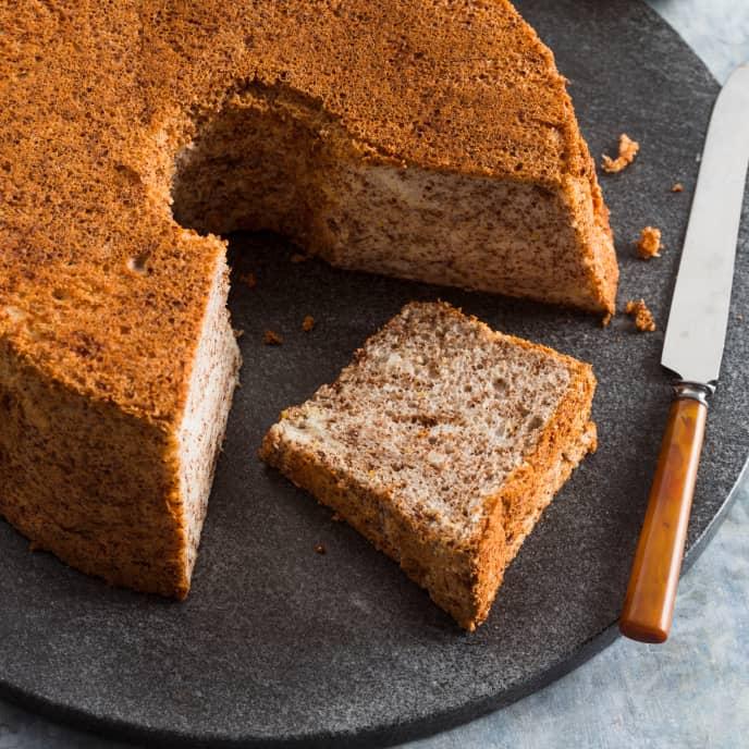 Chocolate-Orange Angel Food Cake